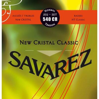 Savarez 540CR New Cristal Normal Tension klasszikus gitár húrkészlet