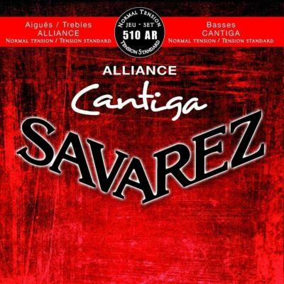 Savarez 510AR Cantiga New Cristal Normal T. - klasszikus gitár húrkészlet