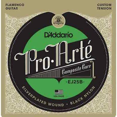 Daddario EJ25B Black Nylon Compcore - klasszikus gitár húrkészlet