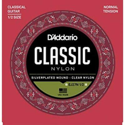 Daddario EJ27N-1/2 - klasszikus gitárhúr készlet, 1/2-es méret