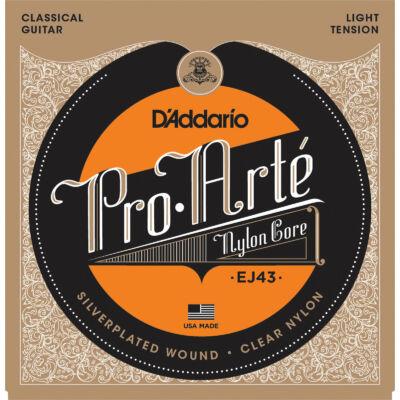 Daddario EJ43 Pro Arté LightTension - klasszikus gitár húrkészlet