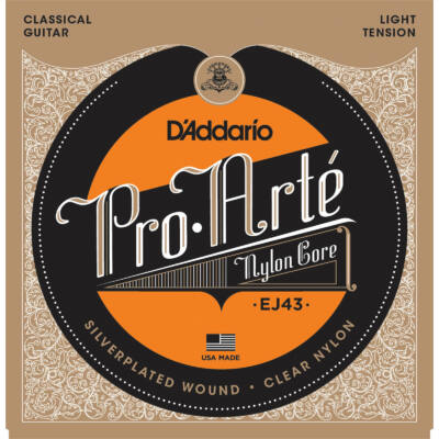 Daddario EJ43 Pro Arté Light Tension - klasszikus gitár húrkészlet