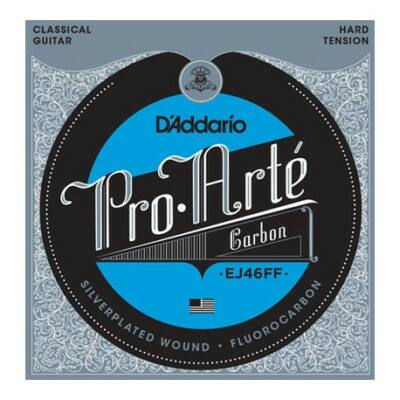 Daddario EJ46FF Pro Arté Hard Tension - klasszikus gitár húrkészlet, karbon