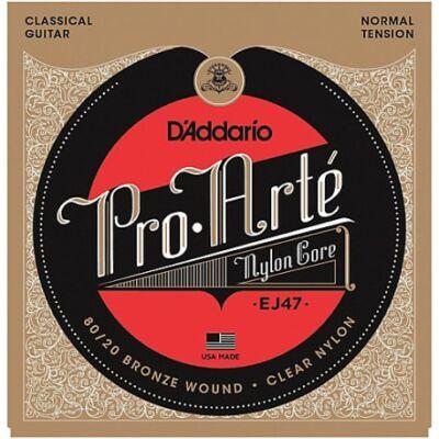 Daddario EJ47 Pro Arté Normal Tension - klasszikus gitár húrkészlet, bronz