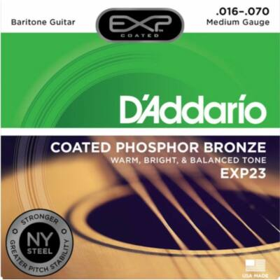 Daddario EXP23 - 016-070 western gitár húrkészlet, bevonatos