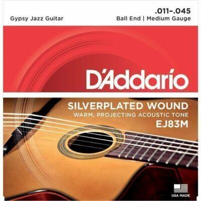 Daddario EJ83M Medium Gipsy jazz  - jazz gitár húrkészlet