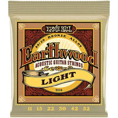Ernie Ball 11-52 Bronze Light - western gitár húrkészlet