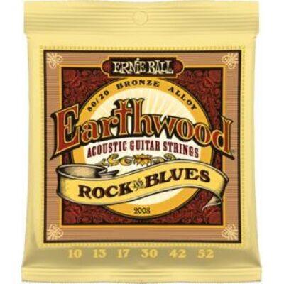 Ernie Ball 10-52 Rock&Blues  Bronze Acoustic - western gitárhúr készlet