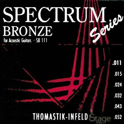 Thomastik SB113 - Spectrum - western gitár húrkészlet, bronz