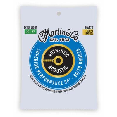 Martin MA170 10-es western húr bronz