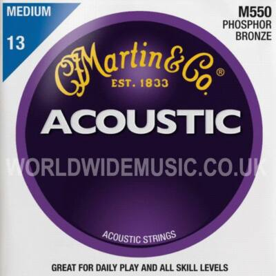 Martin M550 13-56 western húr phosphor - bronze