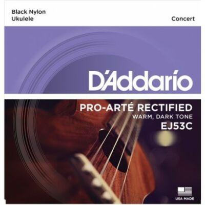 Daddario EJ53C Ukulele Pro Arte - koncert ukulele húrkészlet