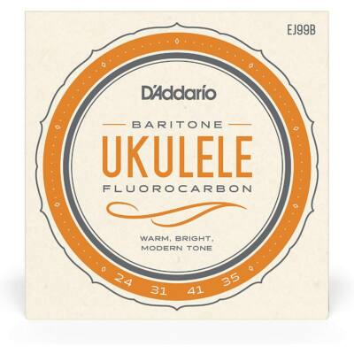 Daddario EJ99B bariton Ukulele Fluorcarbon- ukulele húr