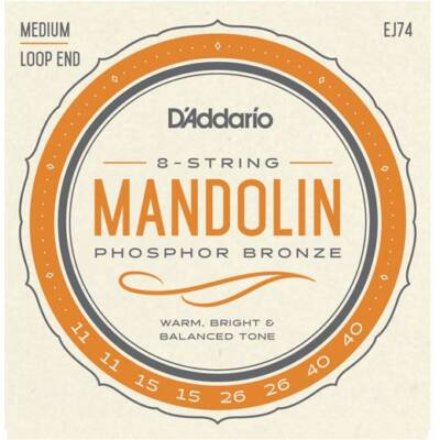 Daddario EJ74  - mandolinhúr készlet
