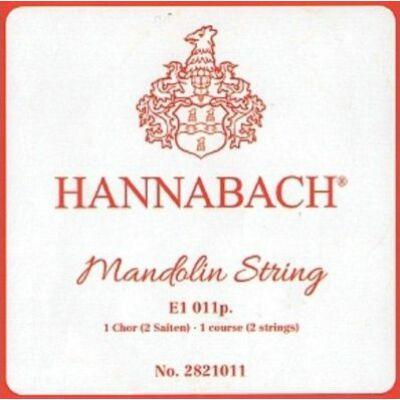 Hannabach E 011 659922 - mandolin E húr pár